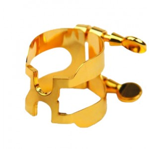 H-Ligature and Cap for Baritone Saxophone (Selmer-style Mouthpieces)