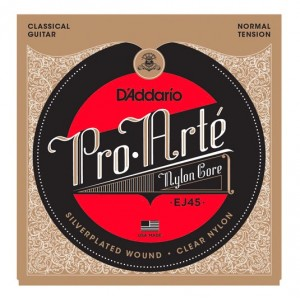 D'ADDARIO EJ45 Pro-Arte Classical Guitar Strings - Normal Tension