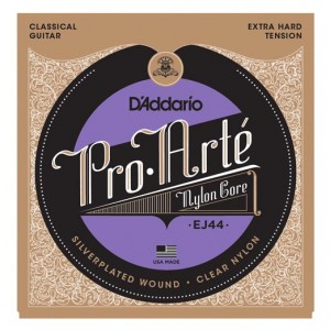 D'ADDARIO EJ44 Pro-Arte Classical Guitar Strings - Extra Hard Tension