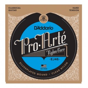 D'ADDARIO EJ46 Pro-Arte Classical Guitar Strings - Hard Tension