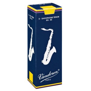 VANDOREN Traditional Box Reed Tenor Sax (Box of 5)