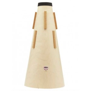 DENIS WICK 5566 BB Tuba Wooden Straight mute