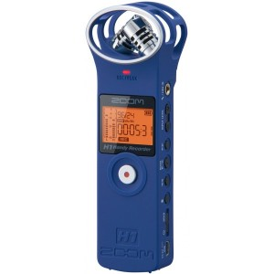 Digital recorder ZOOM H1 LTD BLUE
