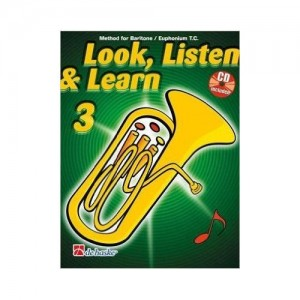 Look, Listen & Learn - Baritone/Euphonium Part 3 (Book And CD)
