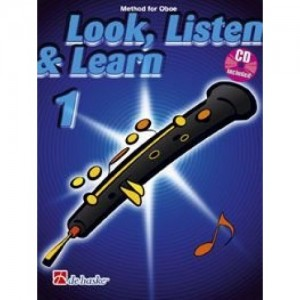 Look, Listen & Learn - Oboe Part 1 (Book And CD)