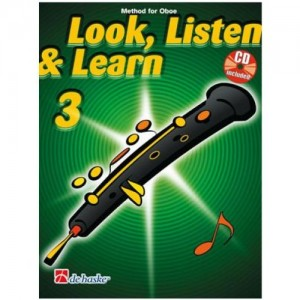 Look, Listen & Learn - Oboe Part 3 (Book And CD)