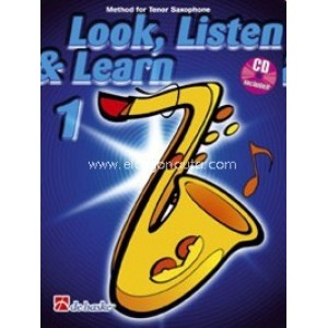 Look, Listen & Learn - Tenor Saxophone Part 1 (Book And CD)