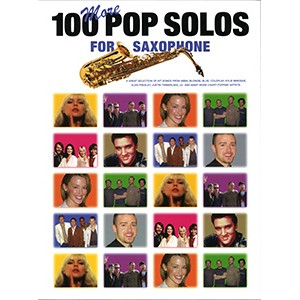 Book 100 Pop solos for saxophone