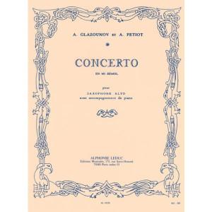 Saxophone Concerto, Op.109 Glazunov