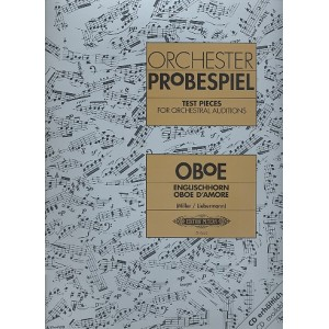 Orchestra Probespiel Oboe 3 CDs Incliuded