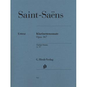 Clarinet Sonata op. 167 Saint-Saëns