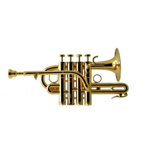 SCHILKE P7-4 Gold Plated Piccolo Trumpet